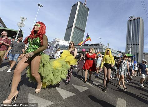 Gay Pride Parade Turnout Defies Conservative Times In