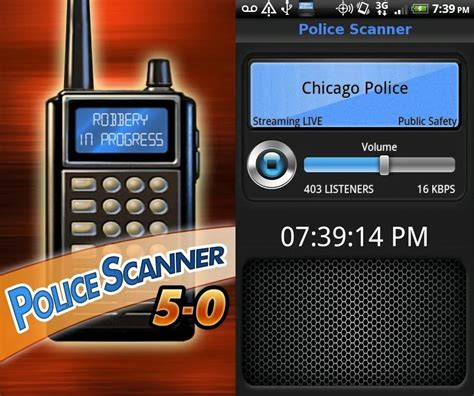 5-0 Radio Police Scanner . Android And Ios A Free App. A