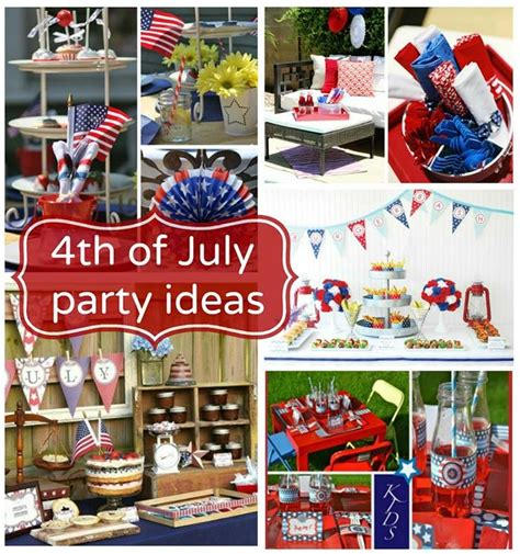 4th of july celebration ideas 4th of july party ideas 4th of july red white blue pinterest