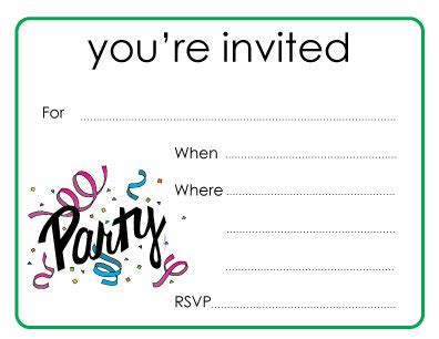 you re invited template awesome designing you re invited cards free invitations for birthday printable