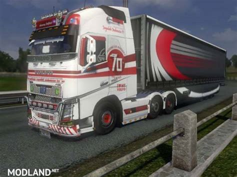 volvo  years independent  indonesia skin mod  ets