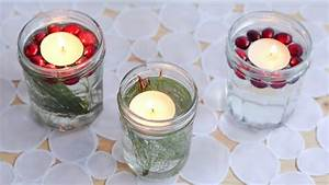 Bougies De Noel : diy bougies flottantes de noel youtube ~ Melissatoandfro.com Idées de Décoration