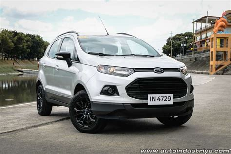 Ecosport 2017 Review by 2017 Ford Ecosport Trend Black Edition A T Car Reviews