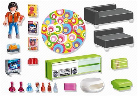 house canapé d angle playmobil 5584 salon moderne cavernedesjouets com