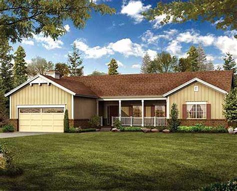 simple  build ranch home plan  architectural designs house plans