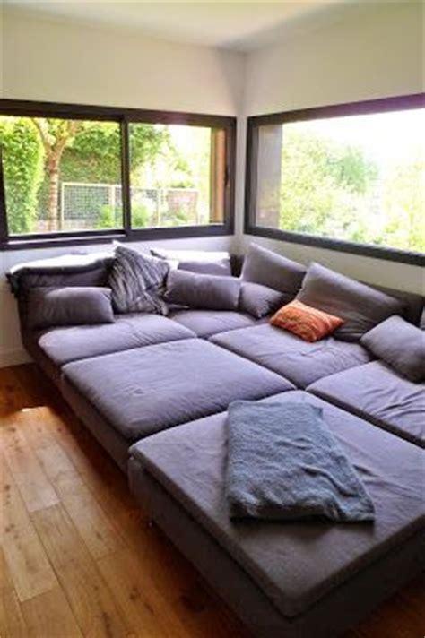 canapé soderhamn occasion un salon télé cosy très confortable canapé modulable