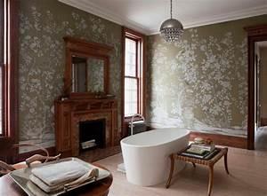 Décoration Murale Salle De Bain : salle de bain r tro id es comment la d corer ~ Teatrodelosmanantiales.com Idées de Décoration