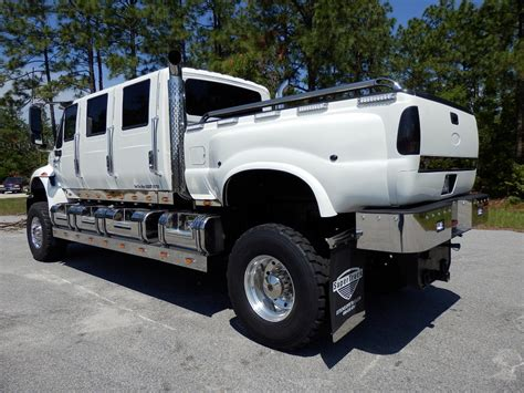 six door truck kodiak six door international f650 supertrucks