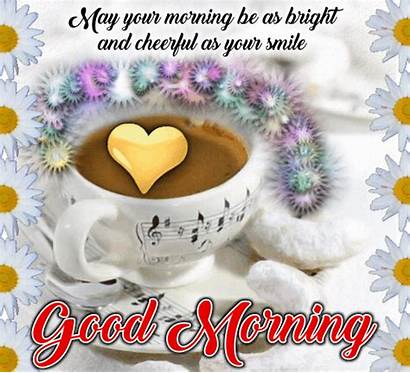 Morning Bright Cheerful Cards Wishes Greetings Card
