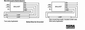 Instant Start Ballast Wiring Diagram