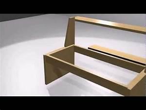 Sitzbank Mit Stauraum Selber Bauen : gartenbank selber machen von holtz diy mobel bauen youtube ~ Michelbontemps.com Haus und Dekorationen