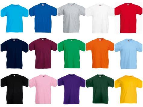SS6B - Fruit of the Loom Kids Value T-Shirt - PB Leisurewear