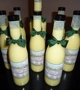 homemade crema di limoncello make great gifts i designed With homemade bottle labels