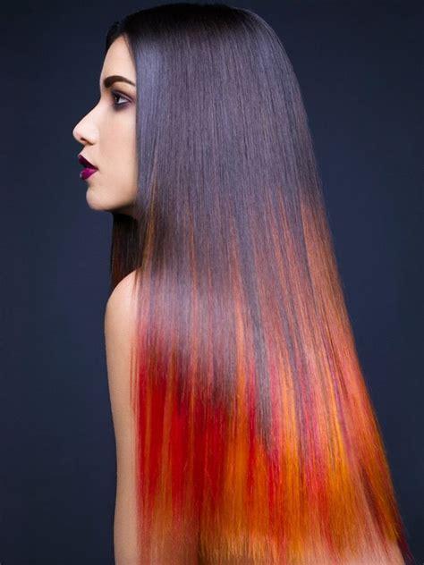 Black And Orange Ombre H A I R Pinterest I Love Hair