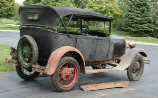 Ford Model A Parts by 1928 Ford Model A Phaeton Project Car Parts Not