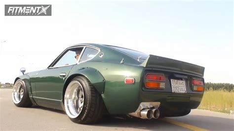 Datsun 280z Coilovers by 1978 Datsun 280z Enkei Mosport Stance Suspension Coilovers