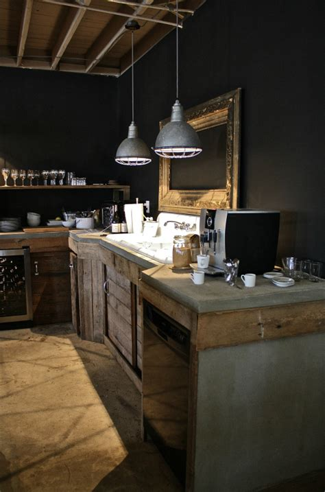 concrete kitchen design how to bring an industrial vibe to your kitchen decoholic Industrial
