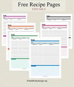 best 25 recipe templates ideas on pinterest clean book With free recipe templates for binders