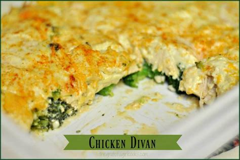 Chicken Divan | The Grateful Girl Cooks! images