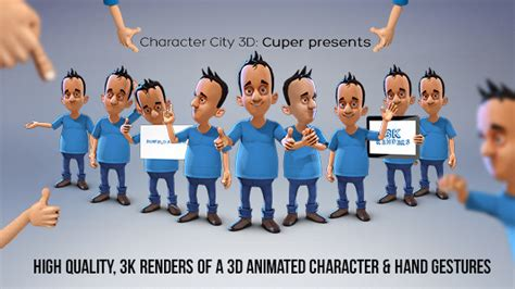 After Effects Product Promo Templates Bobby Character Animation Diy Pack by Character City 3d Cuper Presents Product Promo After