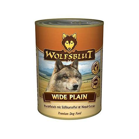 wolfsblut wide plain nassfutter mit pferdefleisch