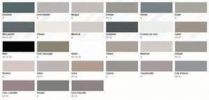Nuancier colours castorama for Palettes de couleurs peinture murale 11 zen le fil de charline