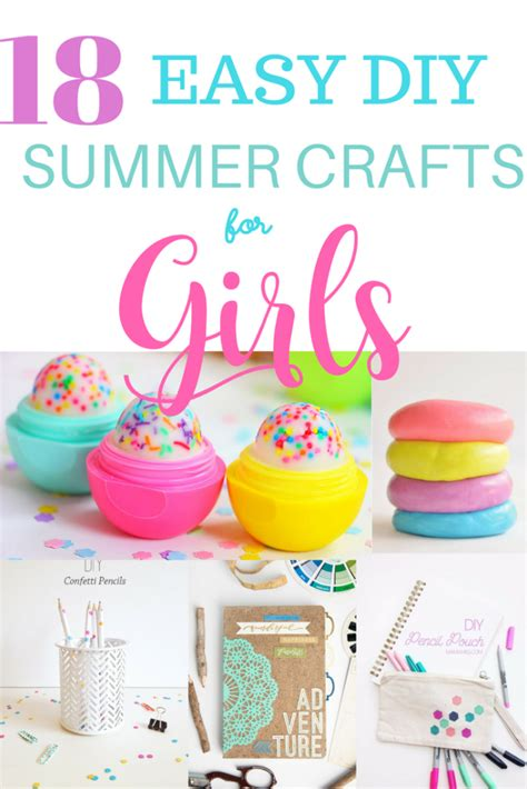 crafts for tweens 18 easy diy summer crafts and activities for Diy