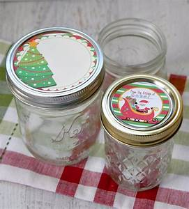 free printable mason jar labels for christmas gifts With christmas canning labels