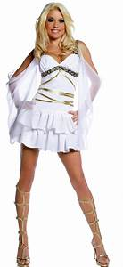 Womens Aphrodite Sexy Greek Goddess Costume - Mr. Costumes
