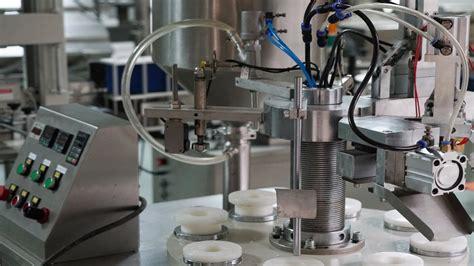 semi automatic plastic tubes filling sealing machine test  usa customer maquina de llenado