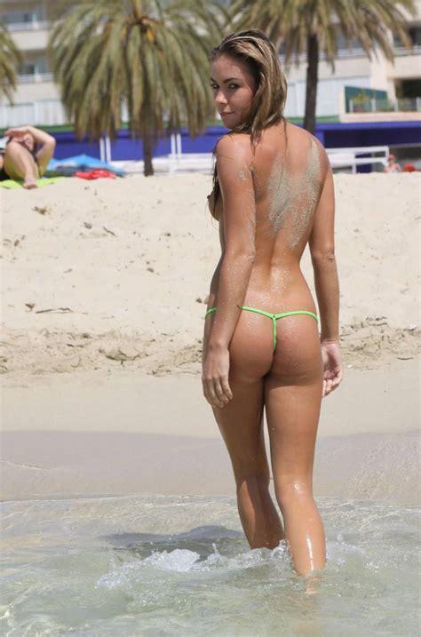 Veronika Fasterova In Micro Bikini Vol 2 Redbust