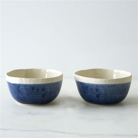Blue Porcelain Soup Bowls (Set of 2) on Food52