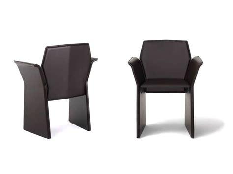 Poltrone A Pozzetto Moderne : Sedia Con Braccioli, Seduta In Pelle, Per Sala D'aspetto