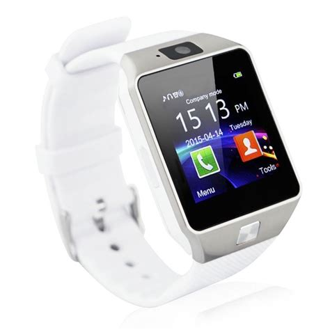 smartwatch for android android smartwatch dz09 white silver price home shopping
