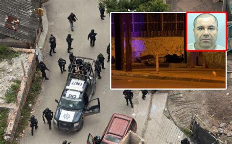 Mexican Drug Lord Joaquín 'El Chapo' Guzman Shot Dead