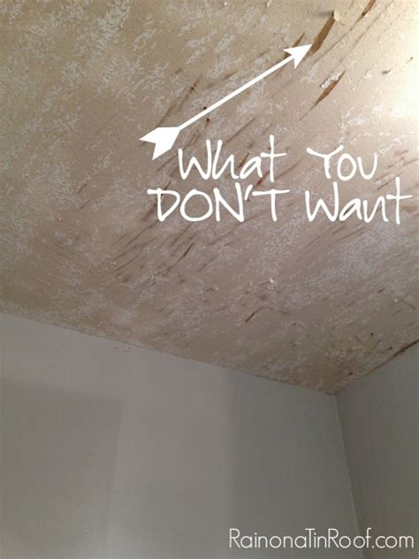 removal of popcorn ceiling how and how not to remove popcorn ceilings