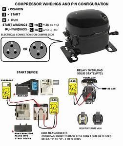 Lg Refrigerator Compressor Wiring Diagram