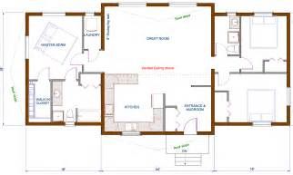 cabin floor plans free open ranch floor plans open concept floor plans concept