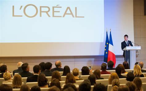 siege social l oreal déplacement au siège de l 39 oréal gouvernement fr