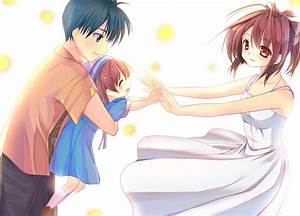 Clannad After Story Tomoya And Nagisa And Ushio | www ...