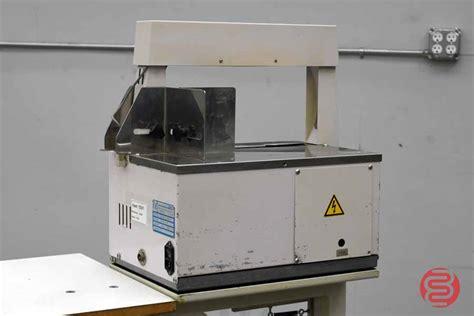 wexler ats ce  automatic banding machine boggs equipment