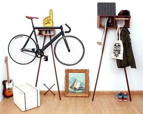 bici da casa porta bicicletta da appartamento bricolage come