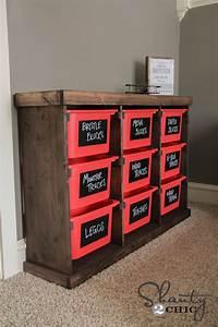 toy organization ideas DIY Storage Idea! - Shanty 2 Chic