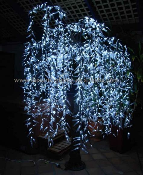 outdoor led trees artificial trees landscape led tree light outdoor led willow tree
