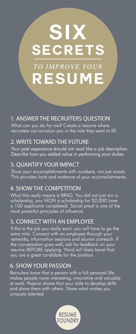 How To Improve Your Resume by How To Improve Your Resume Tjfs Journal Org