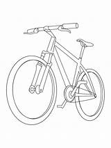 Mountain Bike Colouring Pages Coloringpage Coloring Bicycles Colour Check Category sketch template