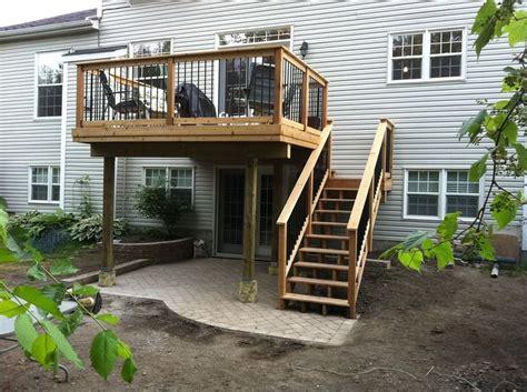 best 25 second story deck ideas on walkout