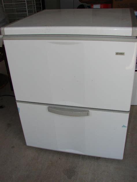 bottom drawer freezer kenmore small chest freezer w bottom drawer