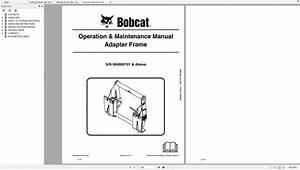 Bobcat Brush Saw Operation  U0026 Maintenance Manuals