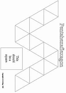 flexagons With hexahexaflexagon template